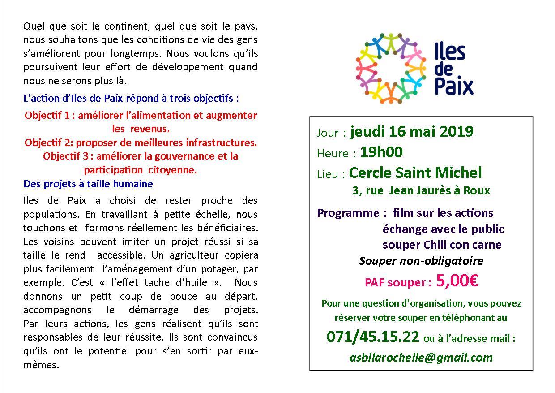 invitation soirée iles de paix 2019 bis